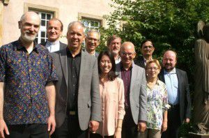 Participants in a Global Christian Forum meeting in Strasbourg (GCF)