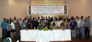 Participants in a consultation on relationships between churches and specialized ministries (WCC  Malawi Council of Churches)